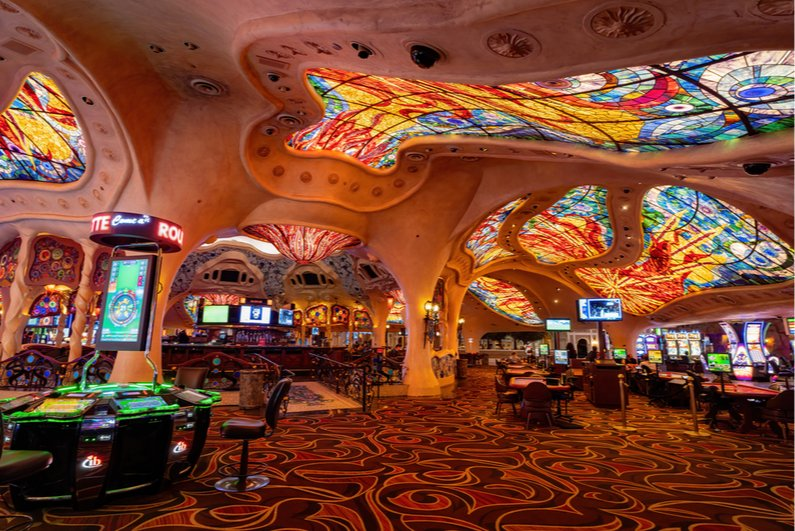 Interior of Sunset Station Casino